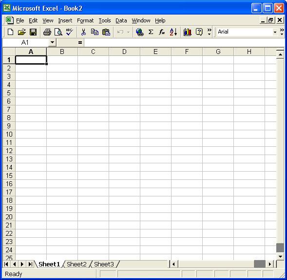 Microsoft Excel A Turorial
